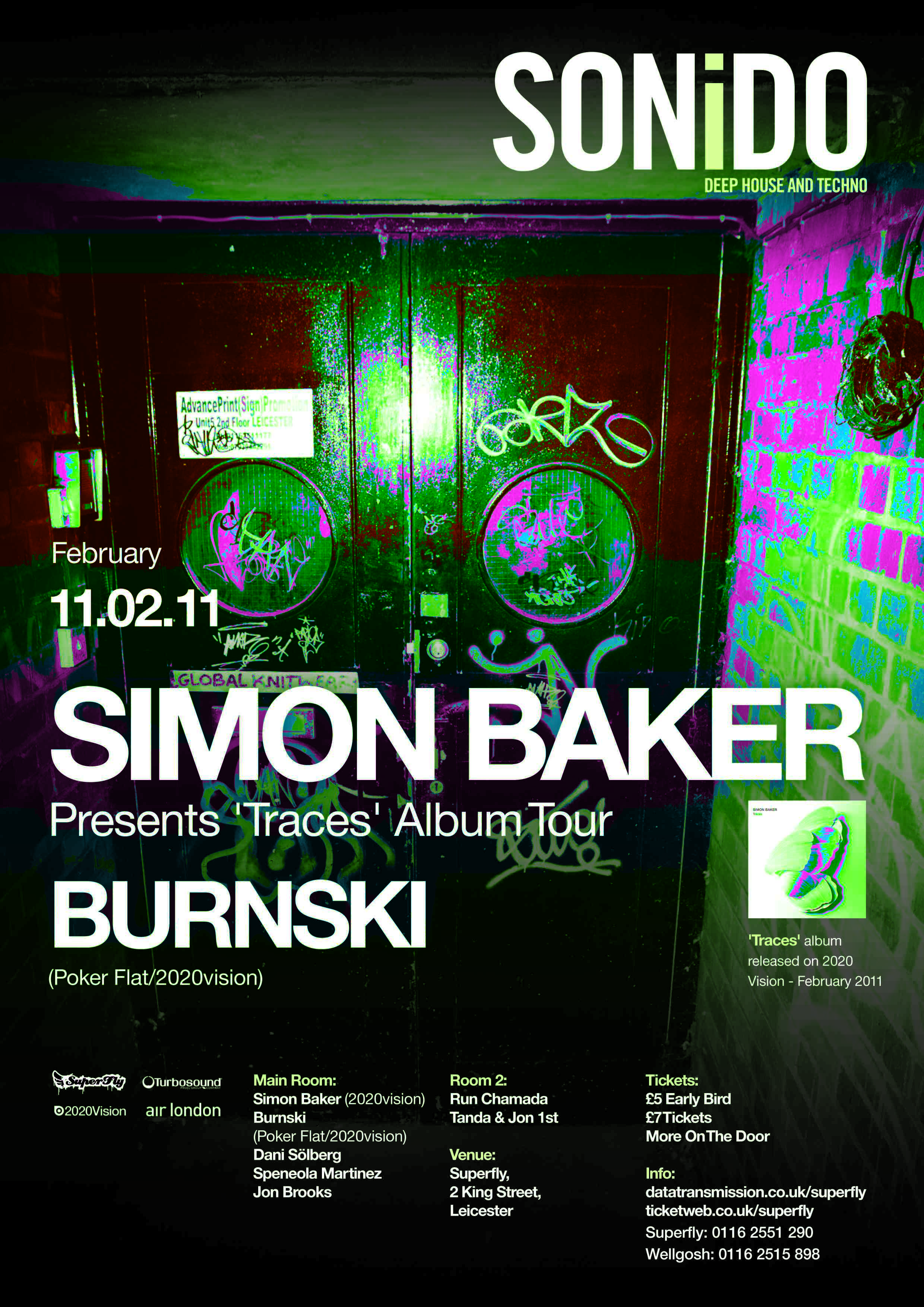 Simon Baker Scar Sonido party with simon baker