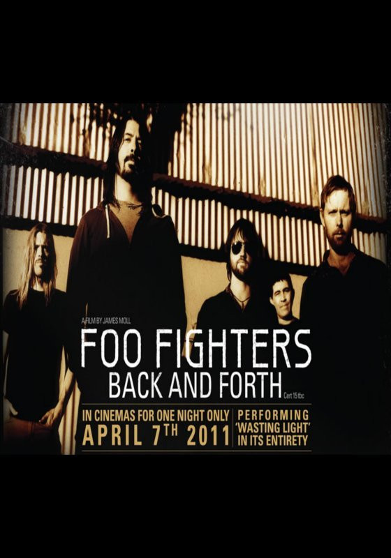 Back And Forth Foo Fighters : foo fighters back and forth aaa music ~ Vivirlamusica.com Haus und Dekorationen
