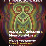 Siriusmo announced to join Modeselektor LIVE at the Roundhouse THIS Friday