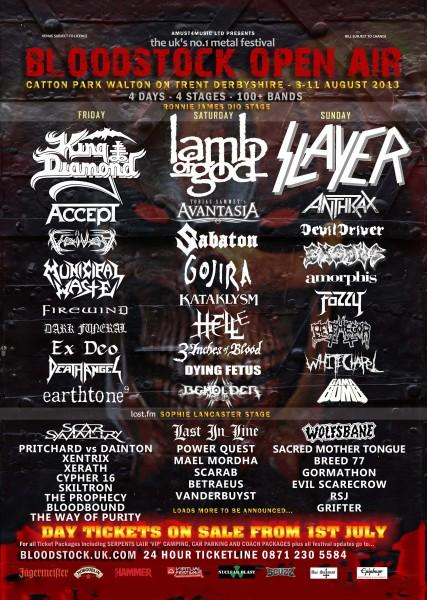Bloodstock June poster 2013