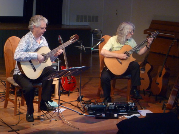 GORDON GILTRAP & RAYMOND BURLEY - Live @ Icknield Community College, Watlington