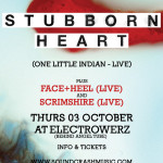 Soundcrash Presents…STUBBORN HEART (live) Next Week