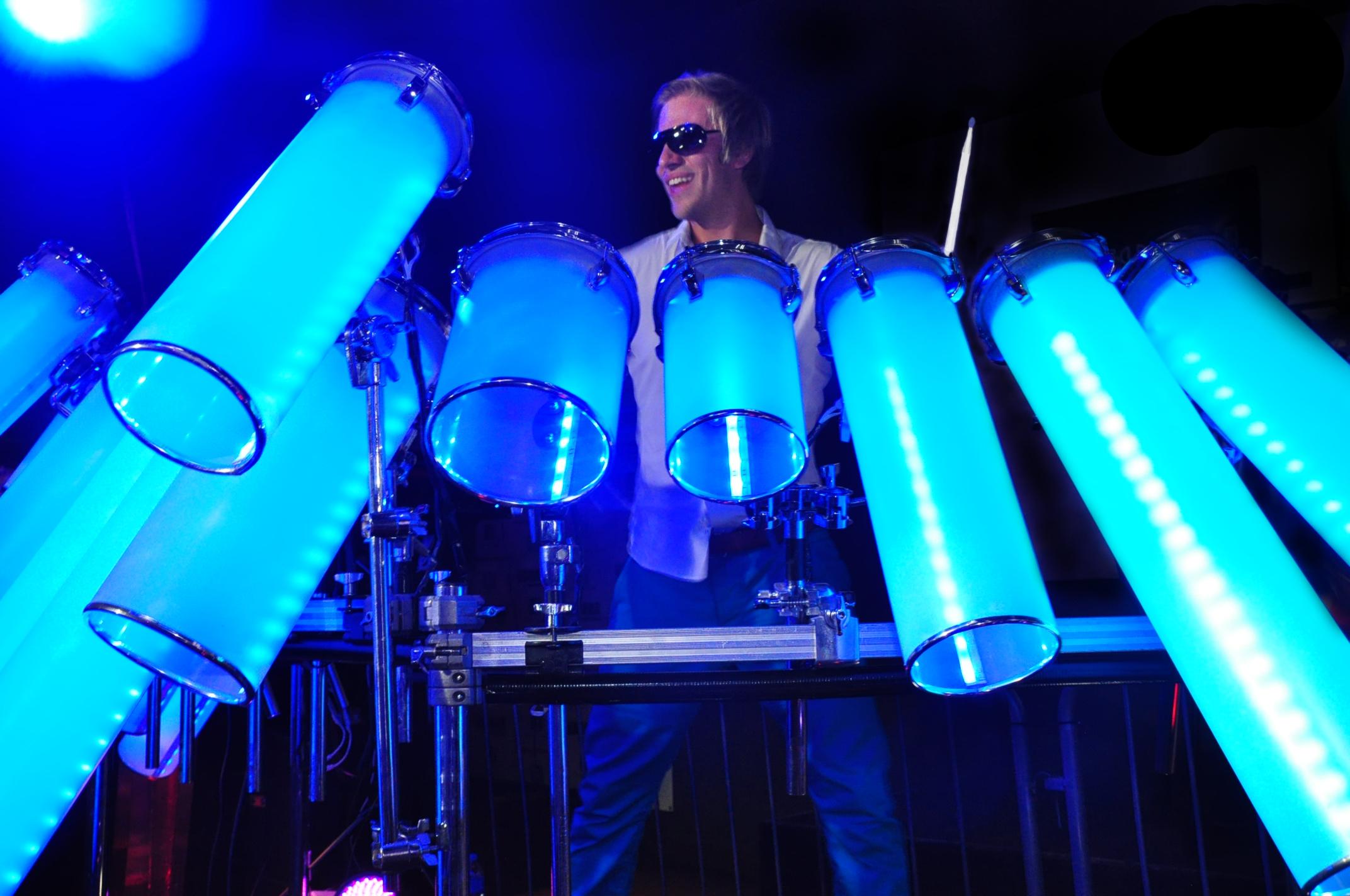 Britain S Got Talent Star Designs Builds Unique Dj Drum