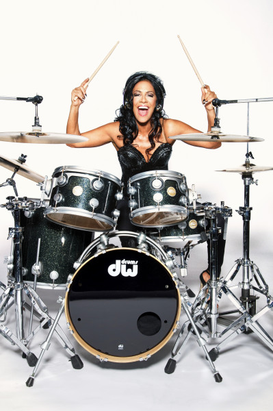 SHEILA E. (photo on drums)