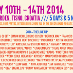 Electric Elephant Croatia Lineup Update...