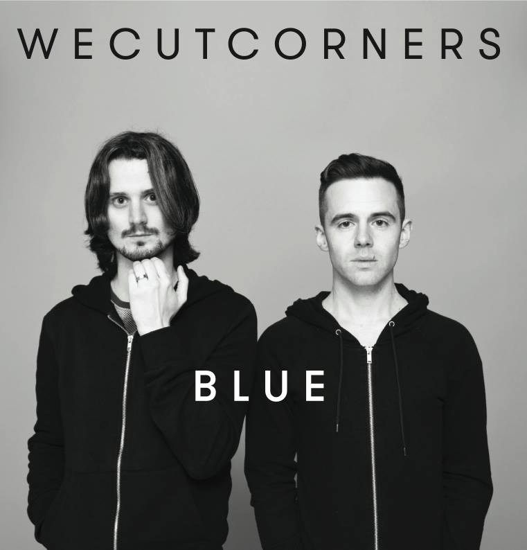 WE CUT CORNERS - BLUE