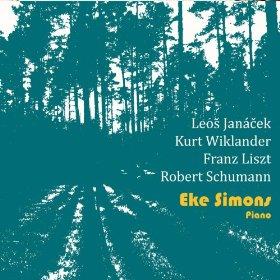 EKE SIMONS - Janacek, Wiklander, Liszt, Schumann