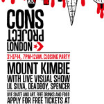 Mount Kimbie To Headline Cons Project Closing Party...
