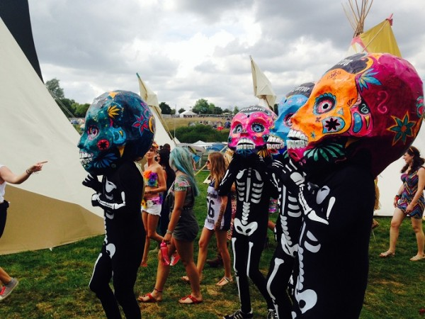 Standon Calling - Dancers