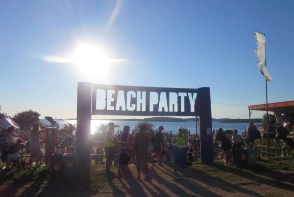 The Beach Stage