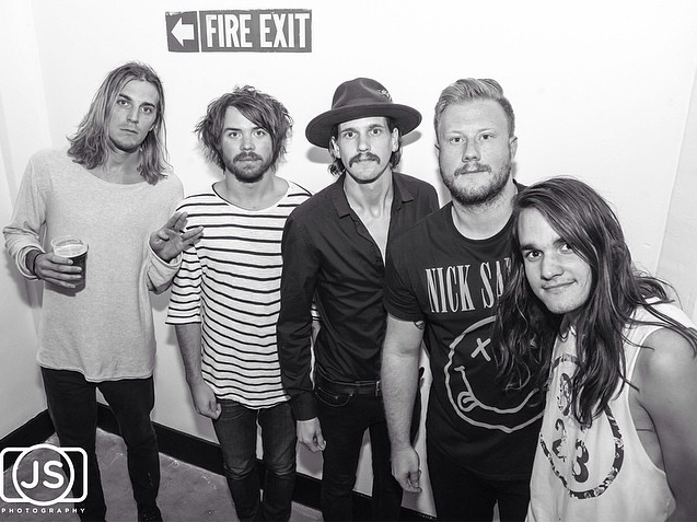 The Maine - Backstage