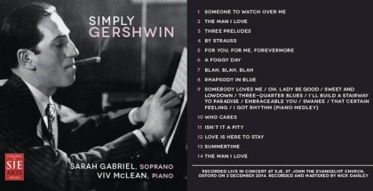 SIMPLY GERSHWIN - CD