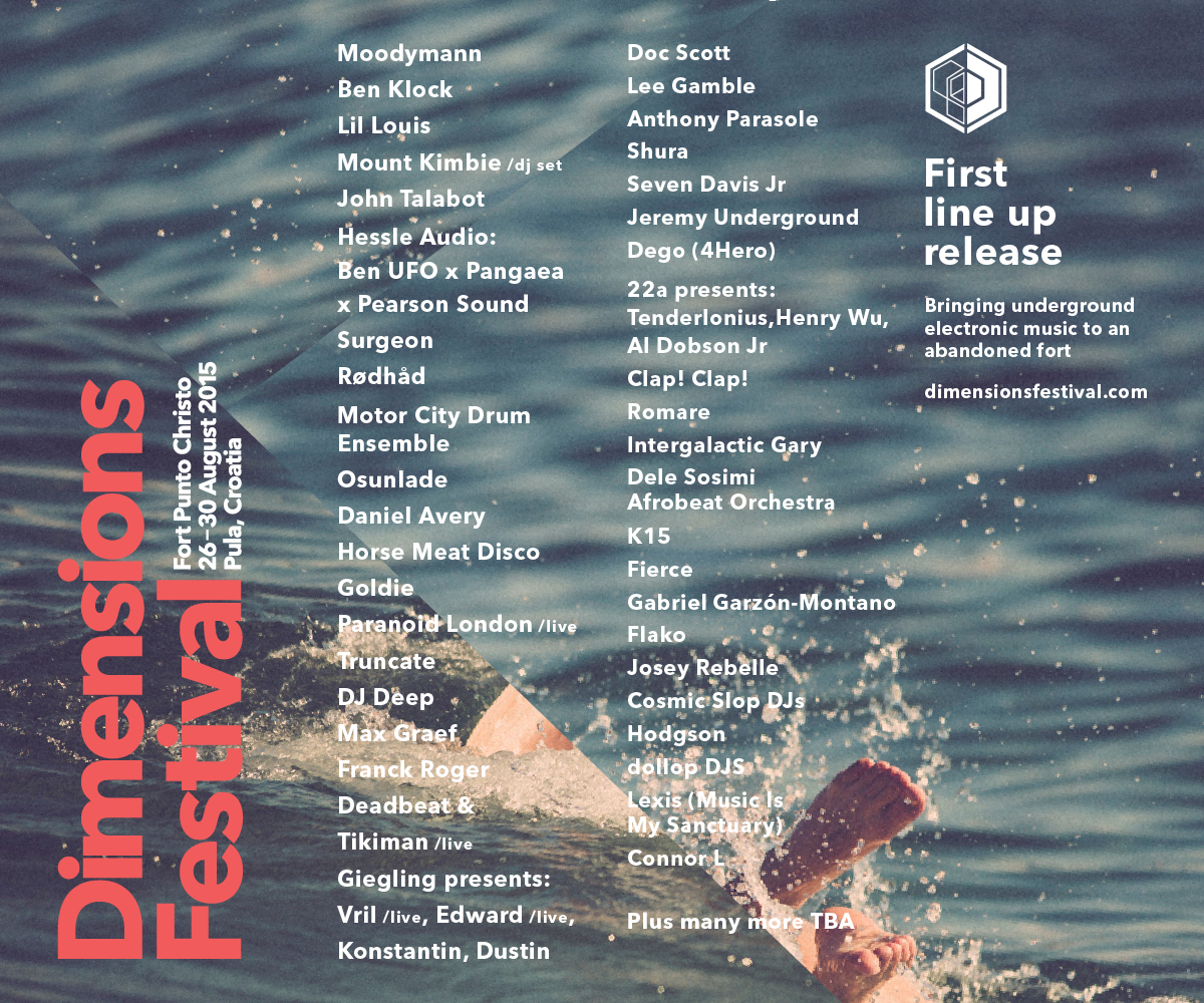 Dimensions 2015 - flyer