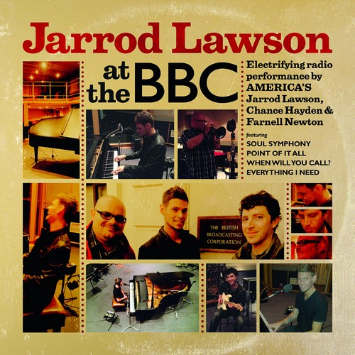 Jarrod Lawson at the BBC