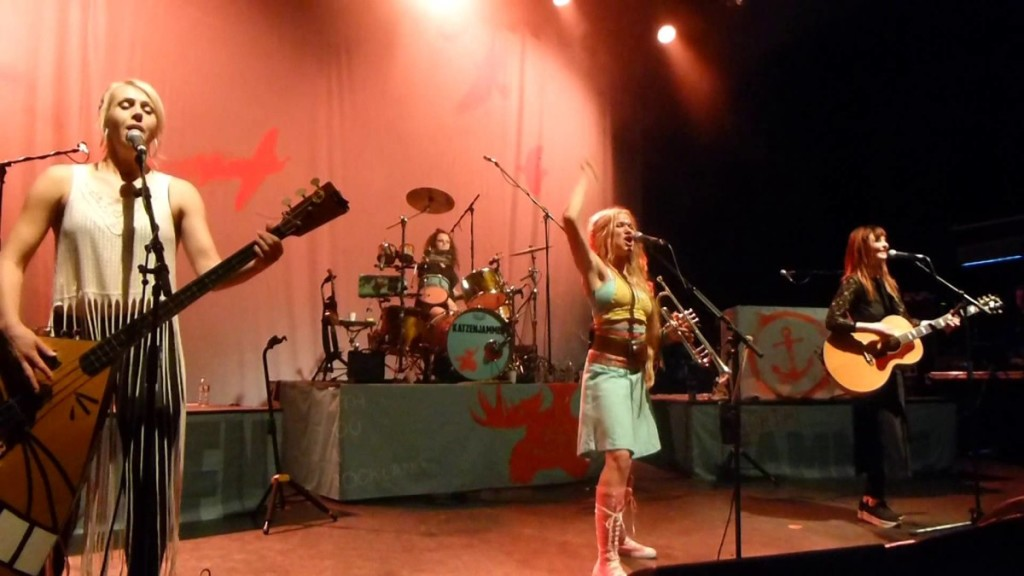 KATZENJAMMER - Live - Shepherds Bush Empire