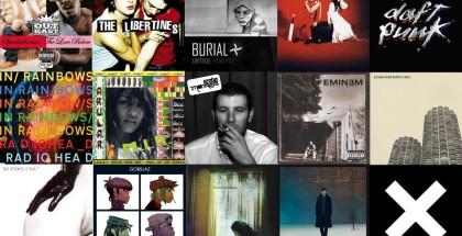 AAA Music - Best Of Century - Albums - Feature - Radiohead-Slaves-Eminem-Libertines