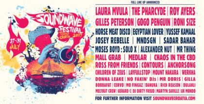 Soundwave Festival 2017 - complete lineup (1)