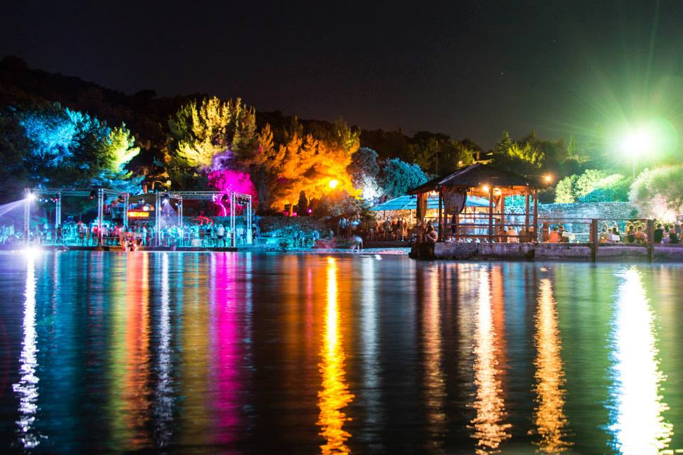 Soundwave - beach Stage at Night